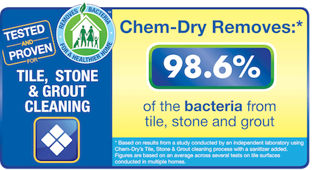 Chem-Dry's Stone, Tile & Grout Cleaning Removes 98.6% of Bacteria For A Healthier Home